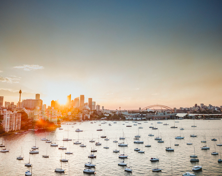 Autumn Holiday Charters on the Sydney Harbour